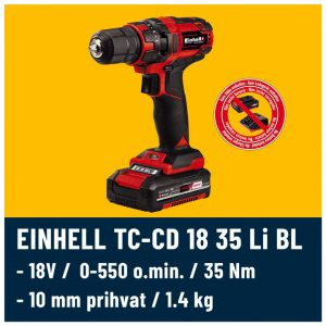 Einhell TC-CD 18 35 Solo