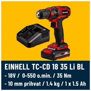 Einhell TC-CD 18 35 Kit
