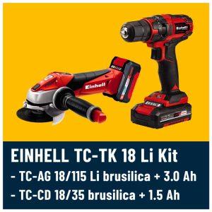 Einhell TC-TK 18 Li set