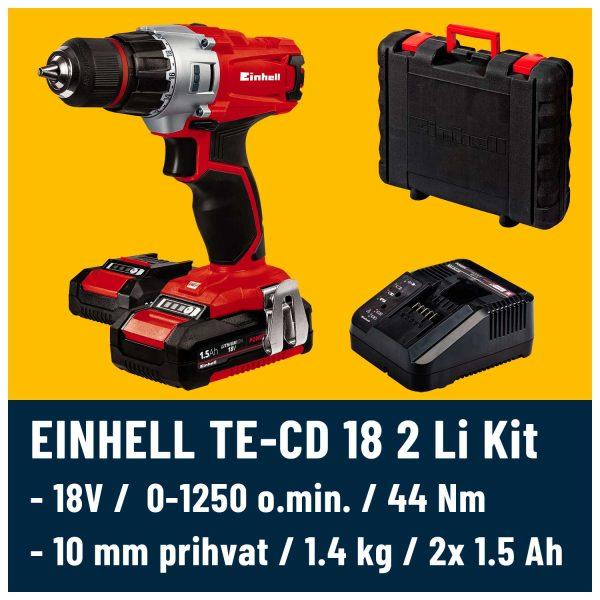 Kovčeg punjač i baterija Einhell