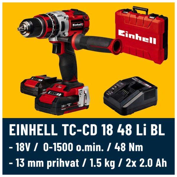 Einhell TE-CD 18 48 Li