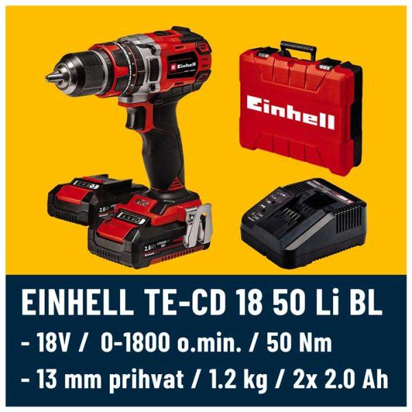 EInhell TE-CD 18/50 Li BL