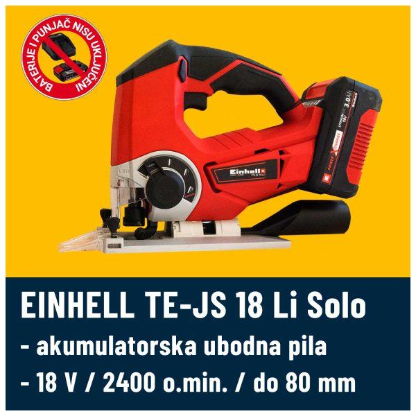 Ubodna pila EINHELL TE-JS 18