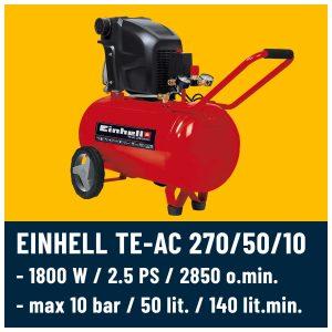 Zračni kompresor Einhel TE-AC 270