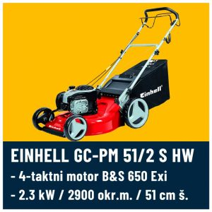 GC-PM 51/2 S HW B&S 720 Einhell