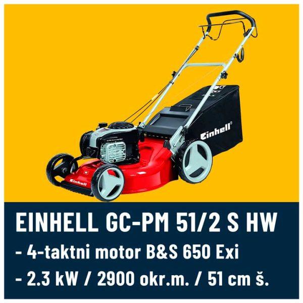 GC-PM 51/2 S HW B&S 720 Einhell