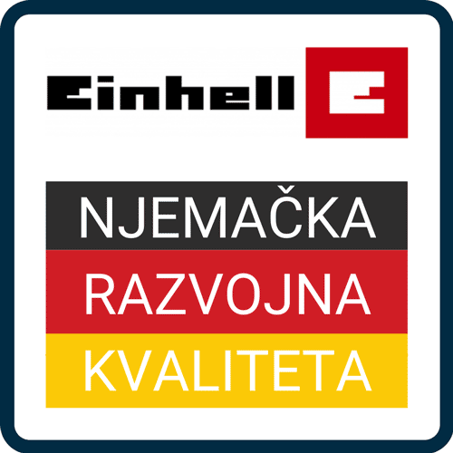 Einhell Njemačka razvojna kvaliteta