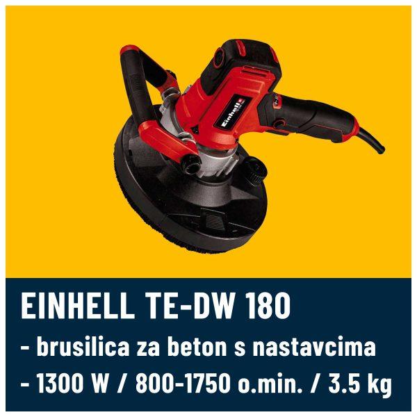 Brusilica za beton EINHELL TE-DW 180