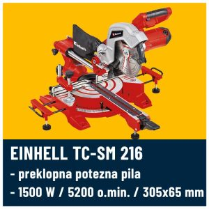 Einhell TC-SM 216 preklopni cirkular