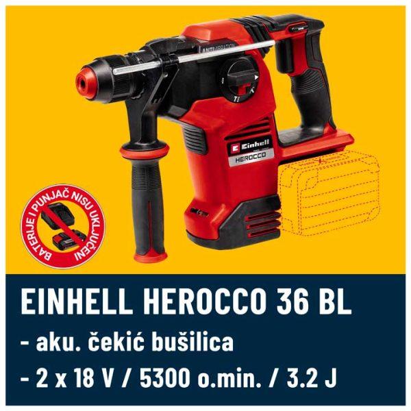 Herocco 36 V BL Einhell